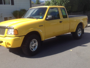 2003 Ford Ranger- EDGE Extended Cab clean 127,500 kms -