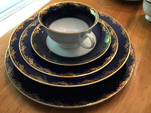 "ROSENTHAL CHINA  ""FREDERICK THE GREAT"" SERVICE FOR 8"