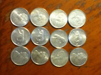 Canadian 1967 silver quarters