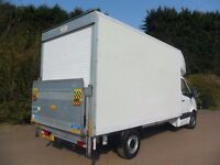 ANY TIME Man And Fully Insured Vans From £15/Hour Nationwide . Large Luton Vans/7.5 Tonne Available