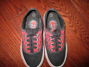 Spiderman shoes size 13.5