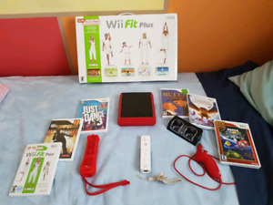 Wii Mini and Wii Fit Lot