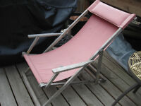 Iconic Wooden Beach Chair