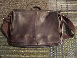 Real leather Kenneth Cole mail carrier bag