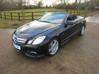 Mercedes-Benz E350 3.0CDI AUTOMATIC CONVERTIBLE Sport Edition 44,000 MILES