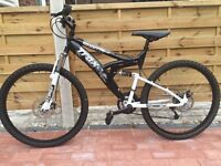 Trax mountain bike full suspension