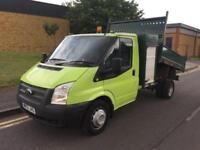 2013 Ford Transit 100 T350 RWD Tipper with Toolbox Manual Tipper