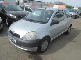 2002 Toyota Yaris Hatch 3Dr 1.0 16v VVTi GS Petrol silver Manual