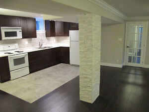Newly renovated modern apartment at Q.E.W and highway 427