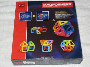 MAGFORMERS (14PC) - MAGNETIC CONSTRUCTION SET (BASIC)- BRANDNEW! Regina Regina Area image 2