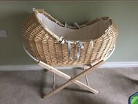 Moses basket ( babys crib or cot)