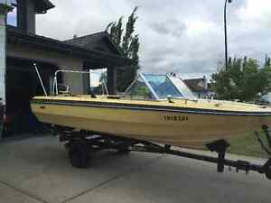 1973 Excell boat, great fishing boat with 65 hp Mercury motor