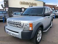 2007 57 LAND ROVER DISCOVERY 2.7 3 TDV6 GS 5D AUTO 188 BHP DIESEL