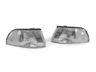 Jdm Corner Lights - DEPO JDM Clear Front Corner Lights For 1990-1993 Acura Integra RS/GS/LS US Spec