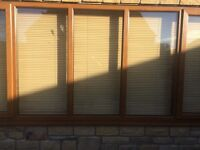 Light oak conservatory blinds or were ever they fit your house mint con