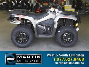2017 Can-Am Outlander XT 1000R Brushed Aluminum