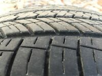 Four 205/55/16 Toyo tires - All season - made in Japan