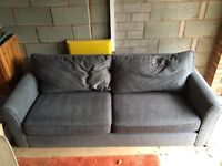 Grey three seater sofa *GREAT CONDITION* available now!