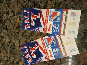 Tonight's Rangers tickets