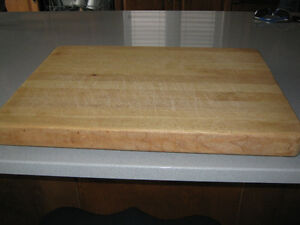 "Large Maple cutting Board size 15""x20"""