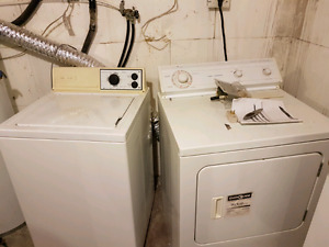 Washer & Dryer $75/pair