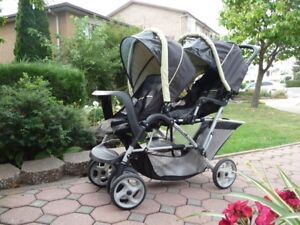 Graco Duo-glider double Baby Stroller