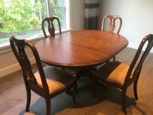 Designer dining table and chairs