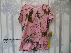 Camo Clothing Infant to Toddler