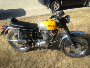 1969 BSA victor 441 special motorcycle