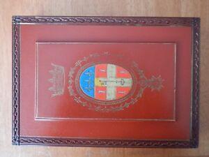 Wooden box BOIS DECORE Signed S. KOLESNIKOFF early XX