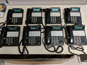 Panasonic Phone KX-T7433 System with 8EXT/4CO Panasonic PBX Syst