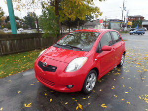 2007 Toyota Yaris RS only 92k's