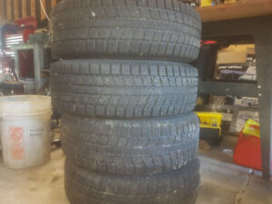 Reduced price ! Winter tires on steel rims