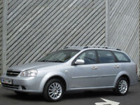 2007/57 CHEVROLET LACETTI 1.6 SX ESTATE - ONLY 70000 MILES FROM NEW !