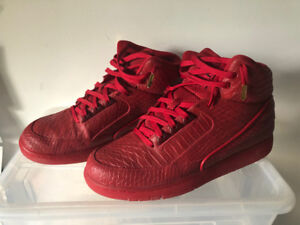 Nike Air Python - All Red - Men Size 9
