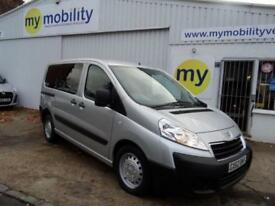 Peugeot Expert Tepee 5 Seat Wheelchair Accessible Disabled WAV Car 2 Litre