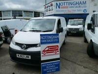 2012 Nissan NV200 1.5 dCi 89 SE Van CAR DERIVED VAN Diesel Manual