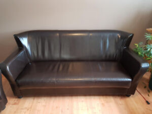 Leather Couch, Chair and Love seat