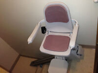 """5 Stair - 78"""" rail Stairlift"""
