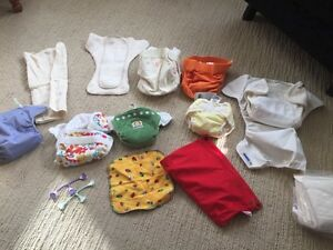 Cloth diapers for sale.