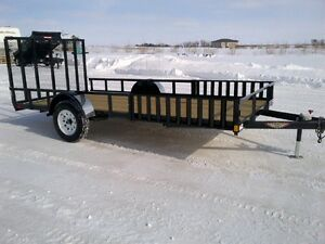 2017 H&H 8.5 x 14ft ATV/Utility Trailers