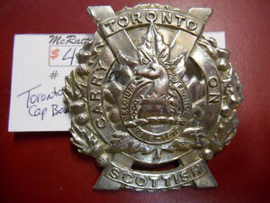 Military Cap Badges London Ontario image 1