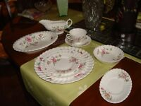 Complete 8 place settings of Royal Doulton Clovelly China
