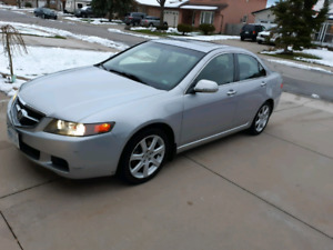 2005 Acura tsx certified