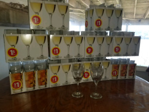 194 Wine and Champagne Glasses - Wedding/Catering