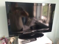 "26"" flat screen TV with built in DVD player and freeview"