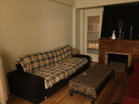 3 1/2 for rent/Fully Furnished/Available Now!