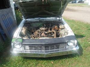 1976 Chev Monza v8 all original $350.00 Parts Car