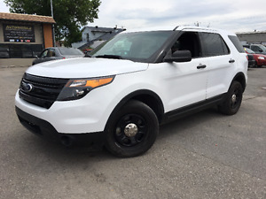 2013 Ford Explorer POLICE PACKAGE