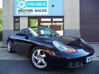 PORSCHE BOXSTER 3.2 S MANUAL, FULL ELECTRIC LEATHER, CRUISE, DVD PLAYER +